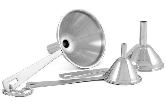 Stainless Steel Mini Funnel Set