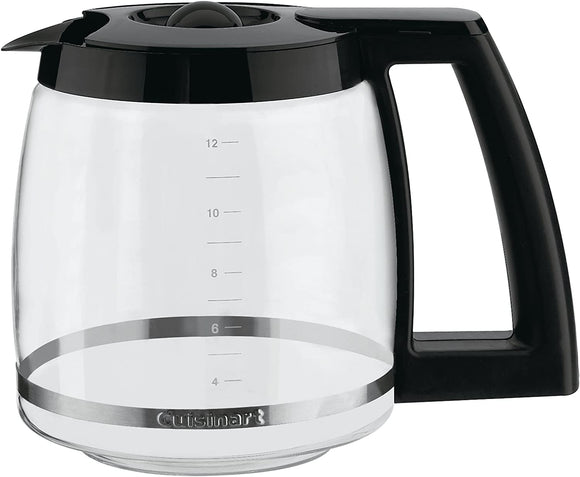 Cuisinart DCC-1200PRC 12-Cup Replacement Glass Carafe – Black