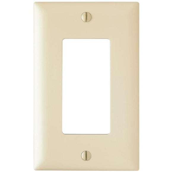 Decorator Single Wall Plate – Ivory