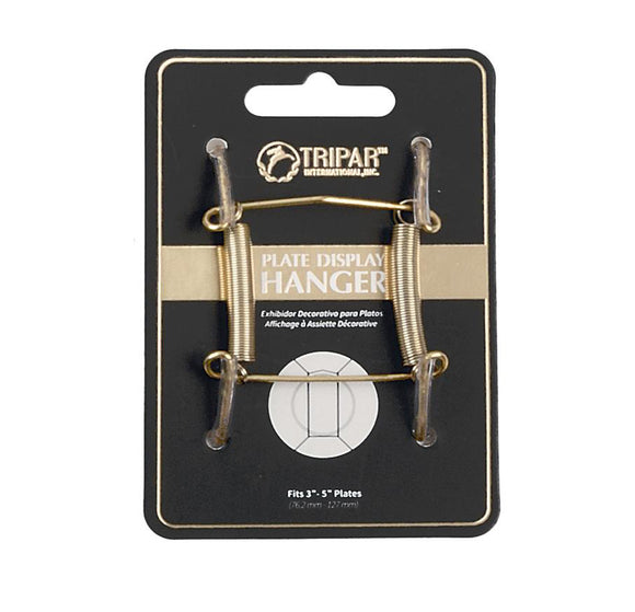 Tripar Brass Wire Plate Display Hanger – 3
