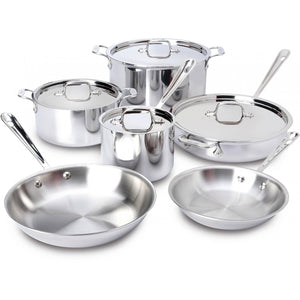 All-Clad Stainless 10-Piece Set