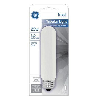 Tubular Light Bulb– Frosted – 25 Watts