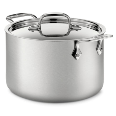 All-Clad D5 Brushed Stainless 4 QT Stock Pot & Lid