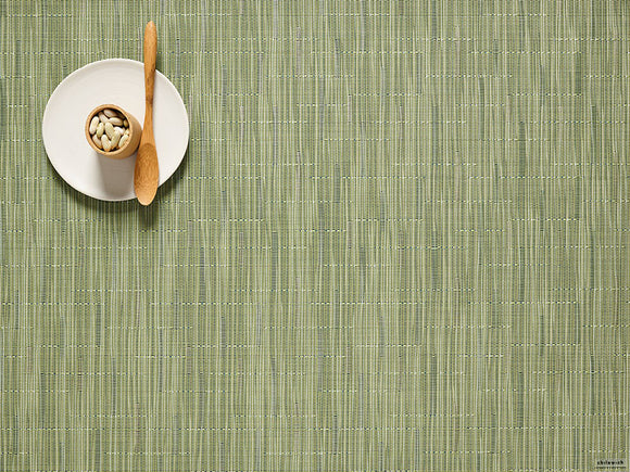 Chilewich Bamboo Placemat – Spring Green