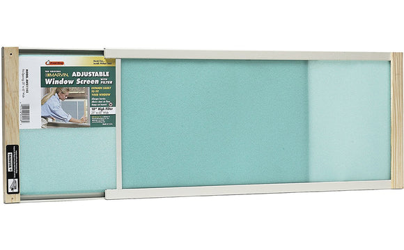 W.B. Marvin Adjustable Window Screen With Filter – 10