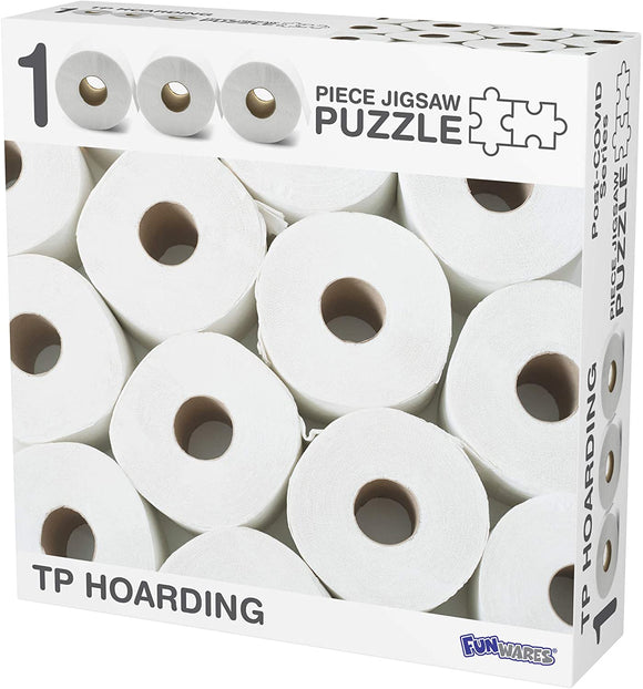 Toilet Paper Hoarding 1000 Piece Jigsaw Puzzle