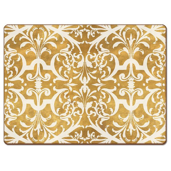 Cala Home Hardboard Placemat – Gilded – NYBG – Boxed 4 Pack