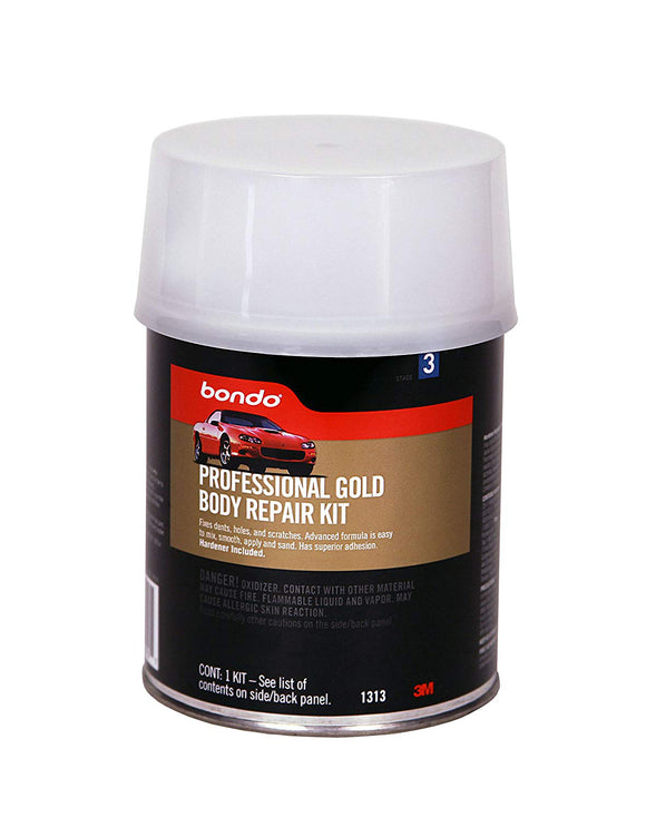Bondo Professional Gold Body Repair Kit – 1 qt
