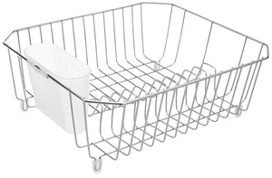 Rubbermaid Chrome Wire Dish Drainer - Large