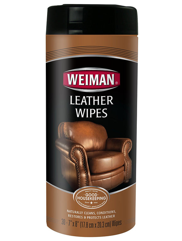 Weiman Leather Wipes - 30 Ct.