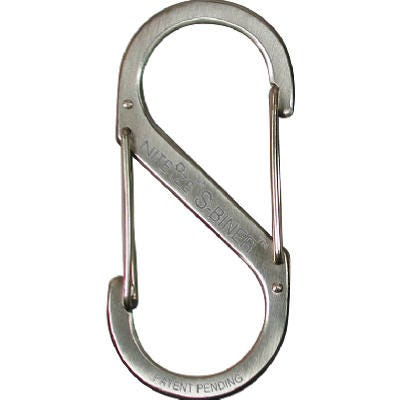 Stainless Steel Carabiner Clip – #2