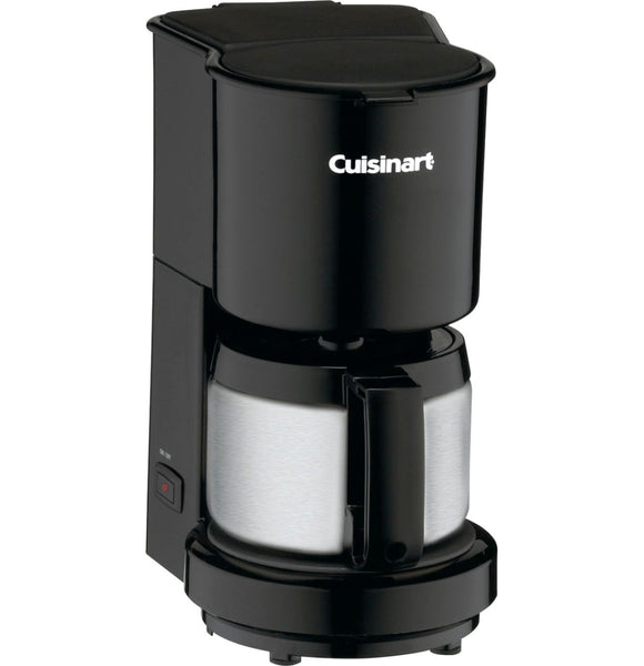 Cuisinart 4 Cup Coffeemaker with Stainless Steel Carafe – Black