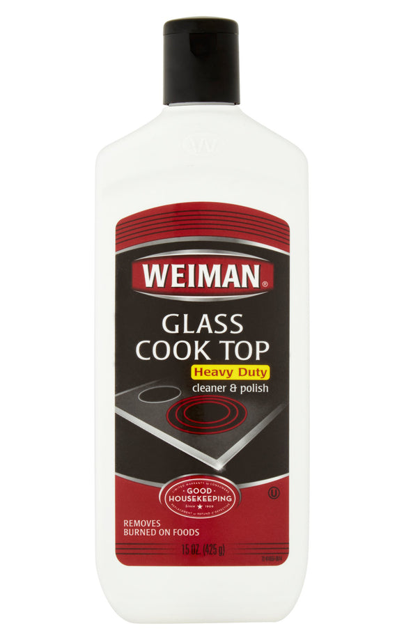 Weiman Glass Cook Top Heavy Duty Cleaner & Polish - 10 oz