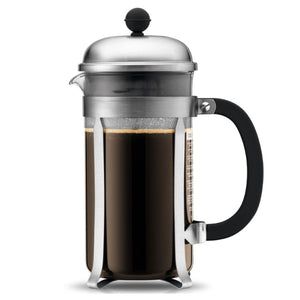 Bodum Chambord French Press Coffee Maker – 8 Cup – Chrome
