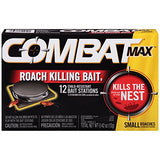 Combat Max Small Roach Killing Bait Stations, 12 ct