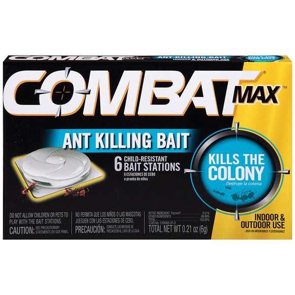 Combat Max Ant Killing Bait Stations, 6 ct