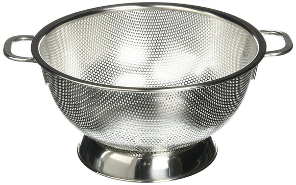 Precision Pierced Stainless Steel 3 qt Colander