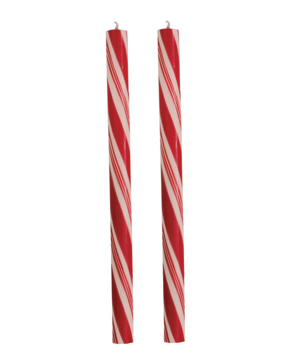 Dadant Holiday Stripes Candy Cane Candles – 12