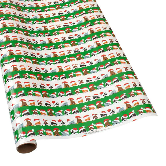Christmas Peek a Boo Gift Wrapping Paper - 30