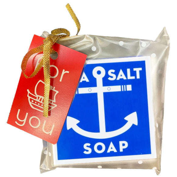 Swedish Dream Pocket Size Sea Salt Soap – Holiday Wrapped