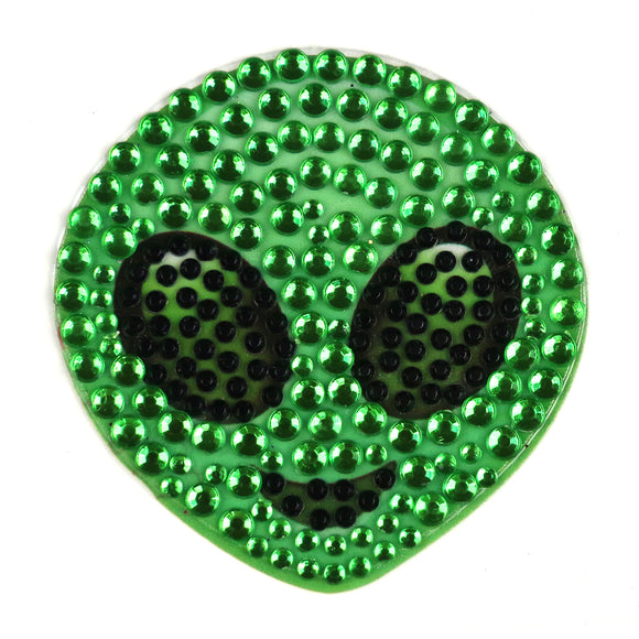 StickerBeans Alien Sparkle Sticker – 2