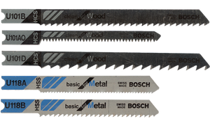 Assorted Universal Shank Jigsaw Blades – 5 Pack