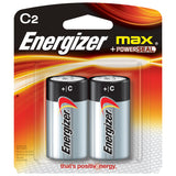 Energizer Max C Battery – 2 Pack