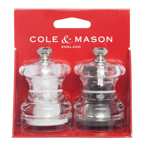 Cole & Mason Mini Salt & Pepper Grinder