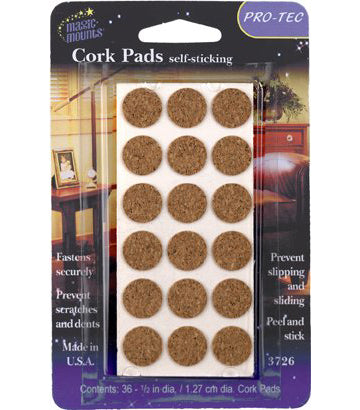 Magic Mounts Cork Pads – 1/2