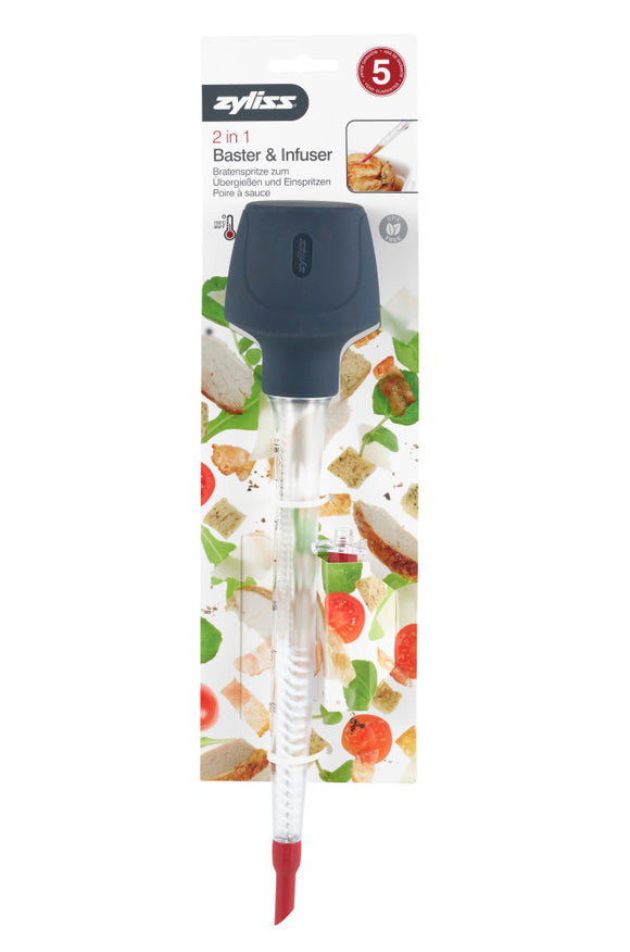 Zyliss 2 in 1 Baster & Infuser