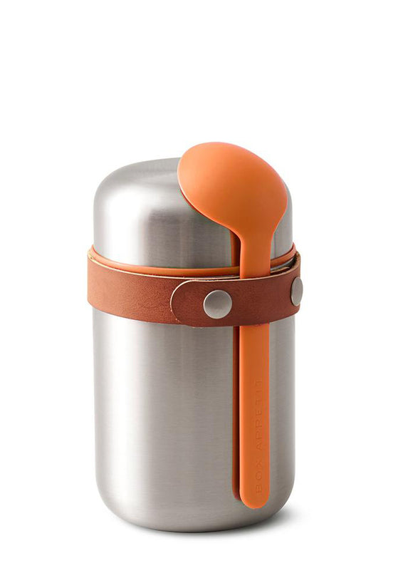 Black+Blum Food Flask – Orange – 13.5oz