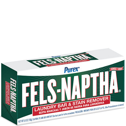 Purex Fels-Naptha Laundry Bar & Stain Remover - 5 oz