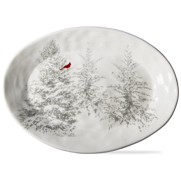 Winter Sketches Tree Platter