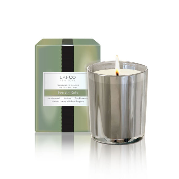 Lafco Limited Edition Holiday Votive – Feu de Bois