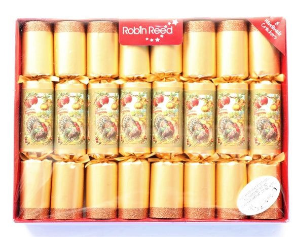 Robin Reed Thanksgiving Crackers – 8 Pack