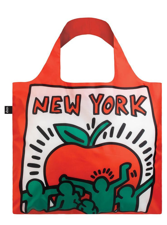 LOQI Reusable Tote Bag – Keith Haring, New York