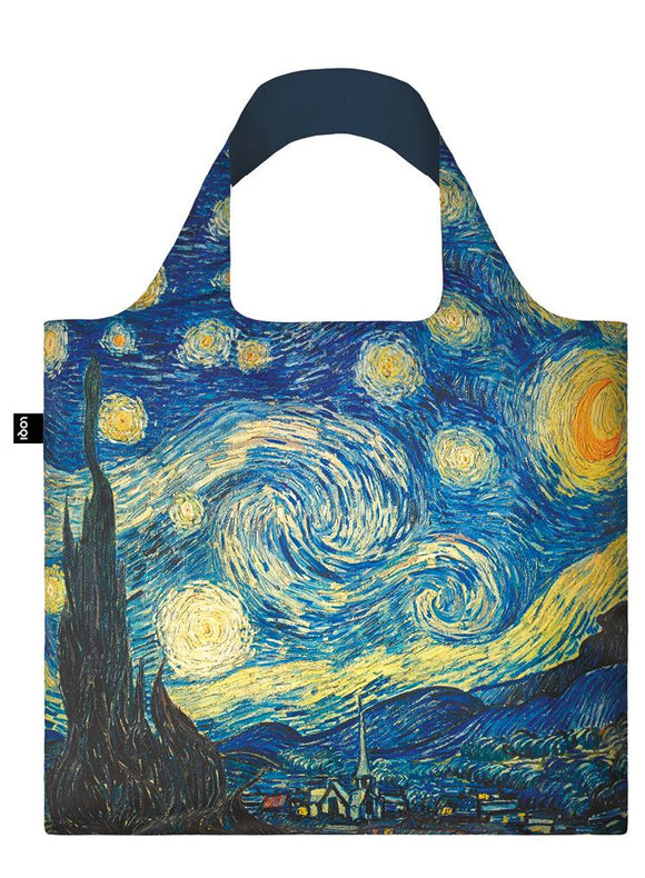 LOQI Reusable Tote Bag – Vincent Van Gogh, The Starry Night, 1889