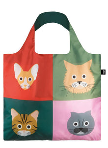 LOQI Reusable Tote Bag – Stephen Cheetham, Cats