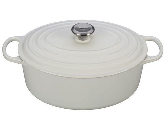 Le Creuset Oval Dutch Oven – 6.75 QT – White