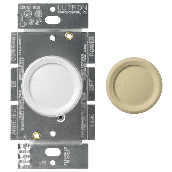 Lutron Single Pole Rotary Dimmer