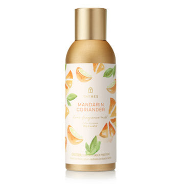 Thymes Mandarin Coriander Home Fragrance Mist – 3oz