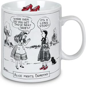 New Yorker Cartoon Mug - Alice Meets Dorothy