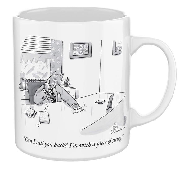 New Yorker Cartoon Mug - Cat