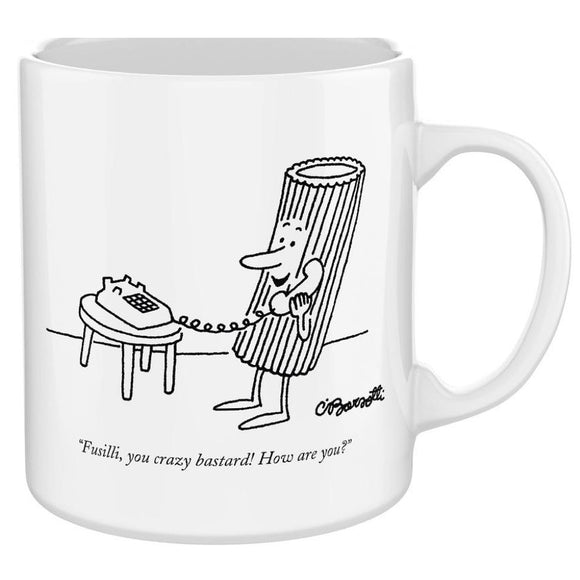New Yorker Cartoon Mug - Pasta