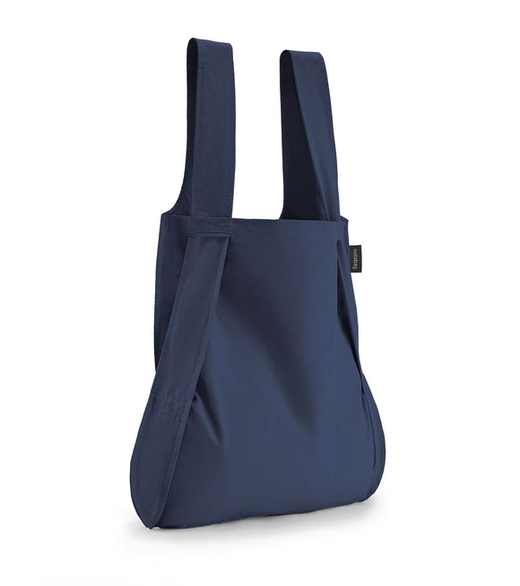 Notabag Convertible Tote Backpack – Navy Blue