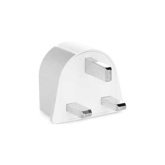 Travel Smart Adapter Plug –UK, Ireland, Africa, Hong Kong, Singapore