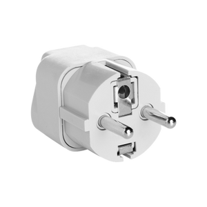 Travel Smart Grounded Adapter Plug