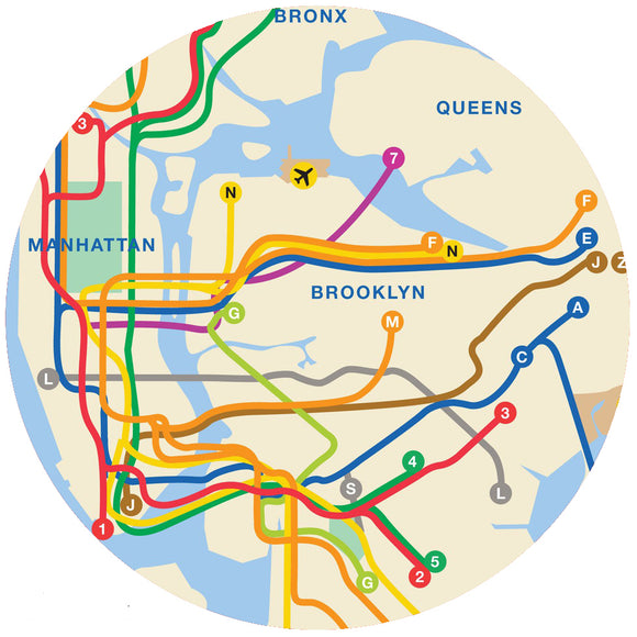 Andreas Silicone Non-Slip Jar Opener – NYC Transit Map