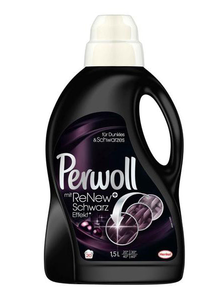 Perwoll Renew 3D Black 20 Load – Imported from Germany