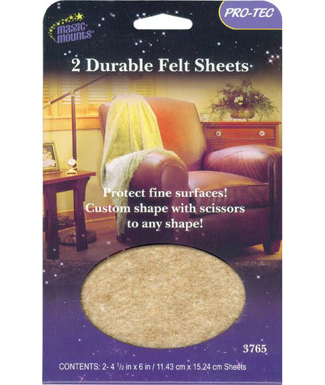 Magic Mounts Pro-Tec Durable Felt Sheets – 4 1/2″ X 6″